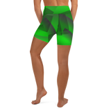 Green Screen Yoga Shorts
