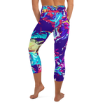 Paint Palette Capri Leggings