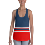 Red, White & Blue Racerback Tank Top