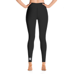 Risher White Logo Leggings