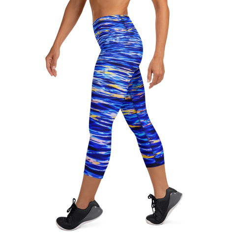 Open Water Capri Leggings