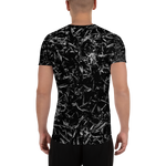 Splatter Performance T - Black & White