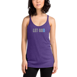 """LET GOD"" Racerback Tank"