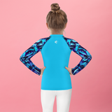 Aquamarine Kids Rash Guard