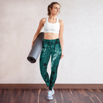 Green Acrylic II Leggings