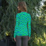 Neon Mummy Rash Guard
