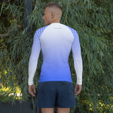 Baby Blue Angel Rash Guard
