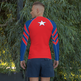 Captain Freedom Rash Guard
