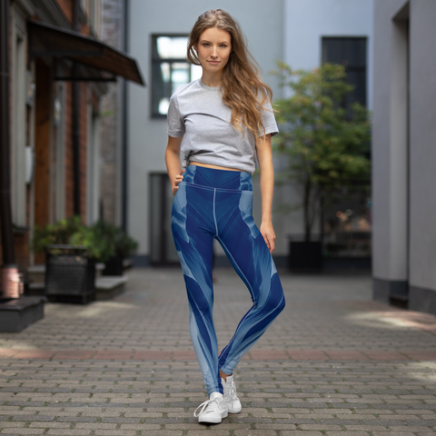 Adventure Leggings - Blue