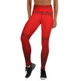 BuckleyBear Tri-Line leggings - Red