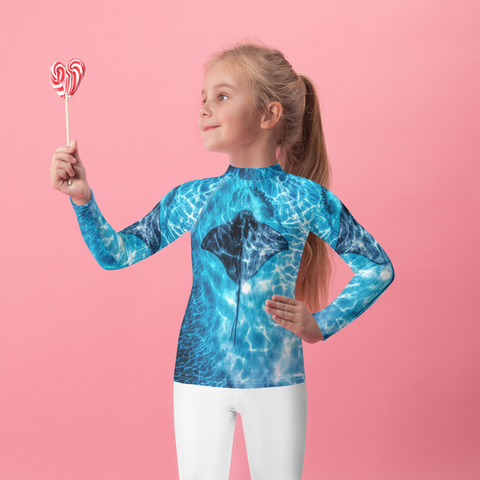 Kids Stingray Rash Guard