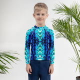 Kids Snake Skin Rash Guard