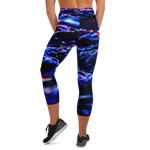 Rough Sea Capri Leggings
