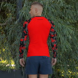 Red Camo Rash Guard