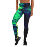 Midnight Wave Yoga Leggings