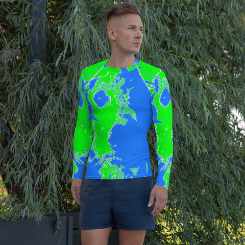 BuckleyBear's Neon Rash Guard