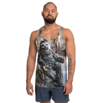 Funny Sloth in rocking chair Tank Top