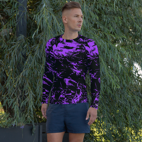 Purple Wave Rash Guard