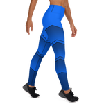 Stages Yoga Leggings - Blue