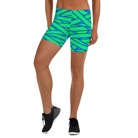 Neon Mummy Fitness Shorts