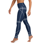 BuckleyBear Tri-Line Leggings - Navy
