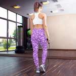Tiger Patched Yoga Leggings