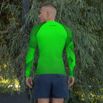 Men's Neon Green Rash Guard
