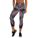 BuckleyBear's Capri Leggings - Pink
