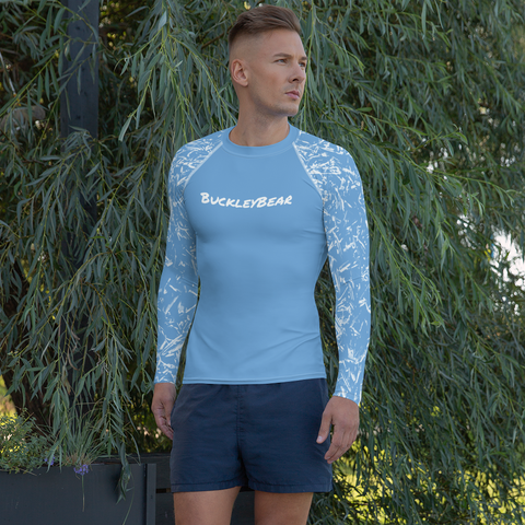 Baby Blue Rash Guard