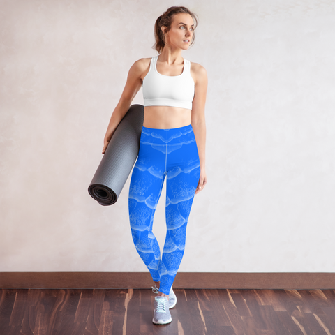 Arapaima Leggings - Blue