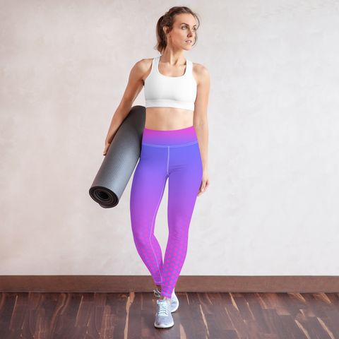 Cotton Candy Hex-a-Flex Leggings