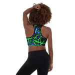Neon Neuron Padded Sports Bra