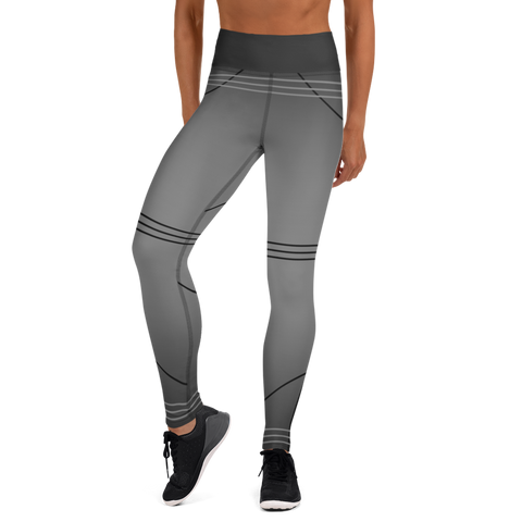 BuckleyBear Tri-Line Leggings - Charcoal