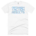 """OPTIMISM + ACTION"" Short Sleeve Soft T"