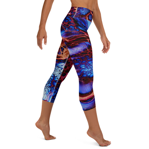 Galaxy Capri Leggings
