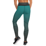 Green Free Flex Yoga Leggings