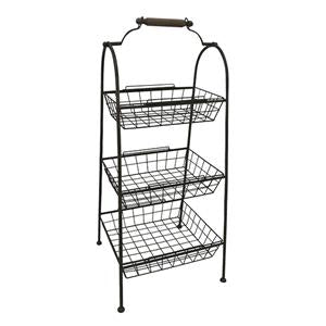 Sofia 3 Tier Wire Standing Storage