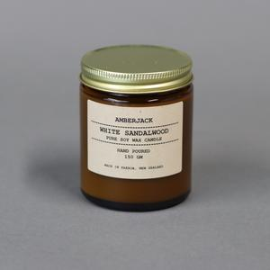 White Sandalwood Soy Candle