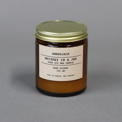 Whiskey in a Jar Soy Candle
