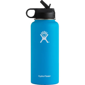 Hydro Flask 32 oz. Wide Mouth Water Bottle with Straw Lid