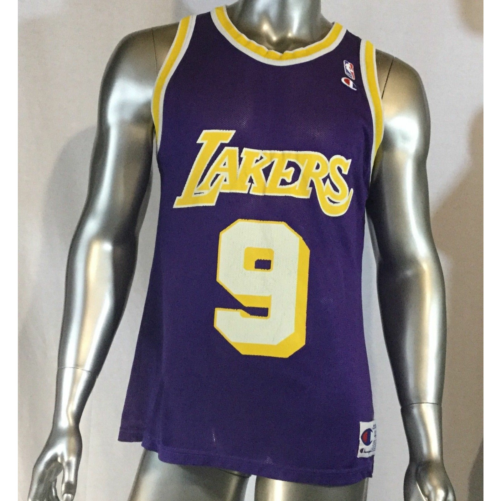 Vintage Champion Van Exel Los Angeles Lakers Authentic Jersey Rar, Size 44