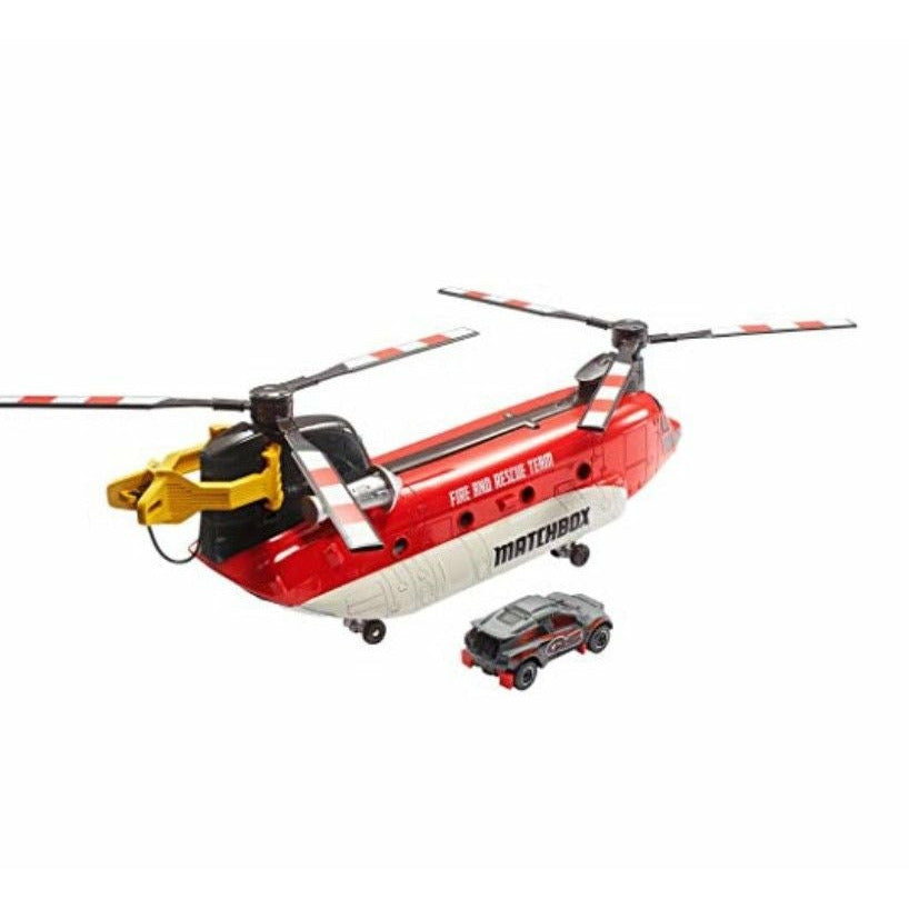 Matchbox Power Launcher Helicopter Vehicle Toy