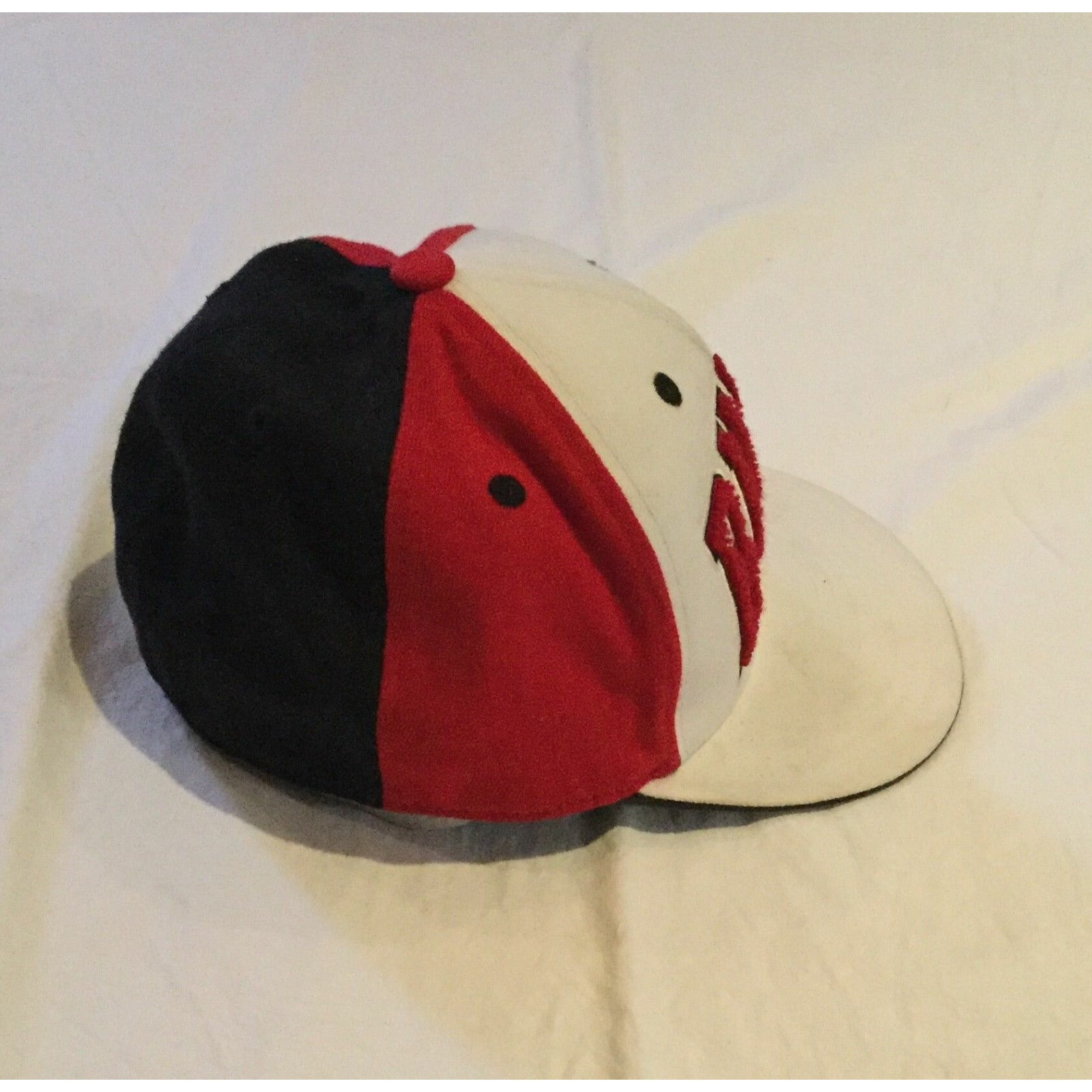 VTG 90's Chicago Bulls Flexfit, Adidas NBA Cap-hat, 210 Fitted 6 7-8-7 1-4