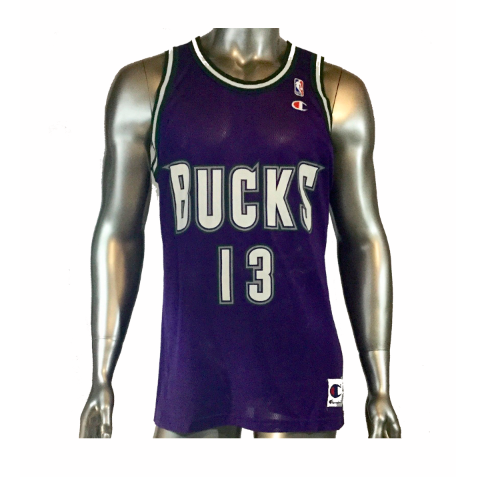 GLENN ROBINSON #13 Milwaukee Bucks Basketball Jersey 44 by Champion