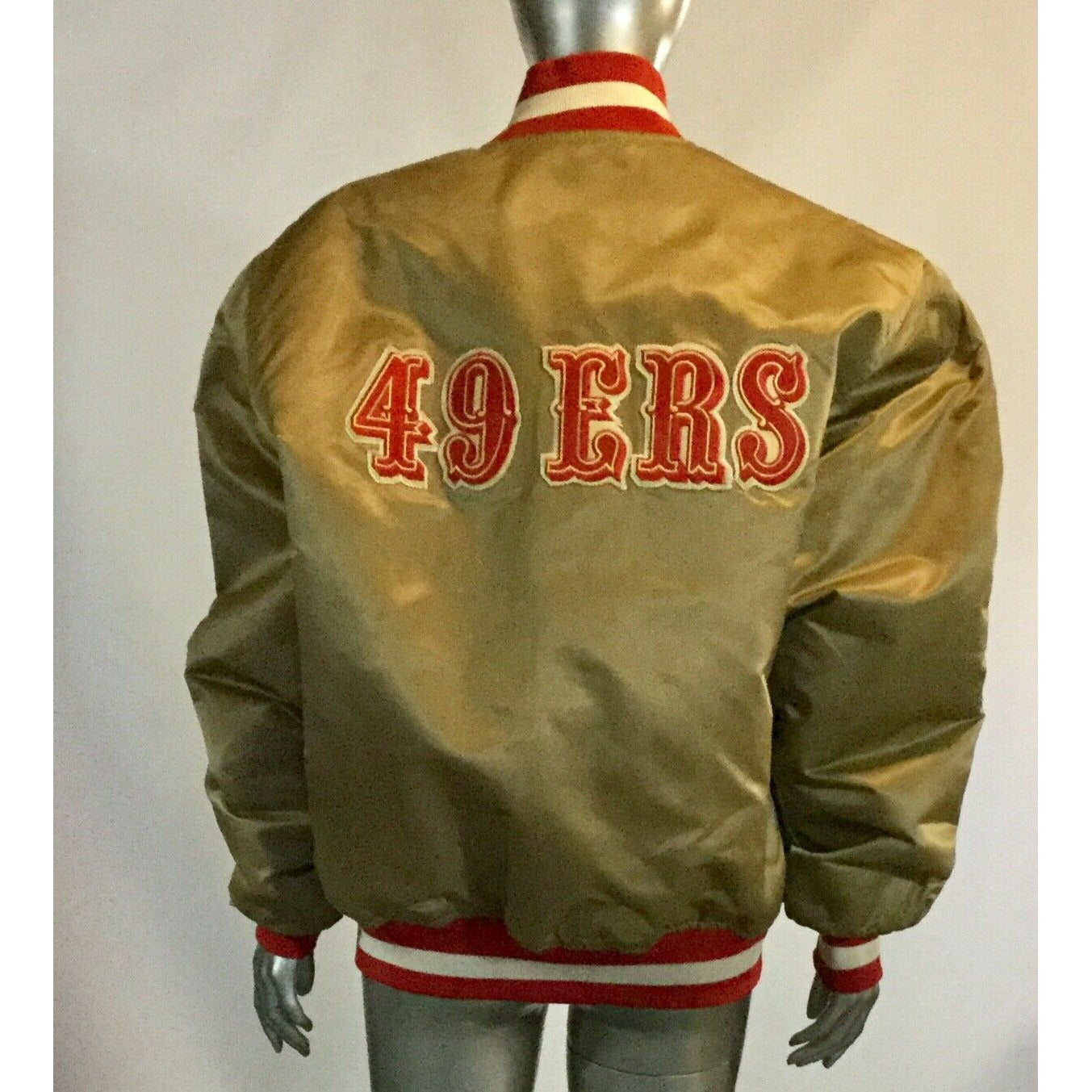 Copy of Vintage, Starter ProLine, San Francisco 49ers, Satin Jacket,S