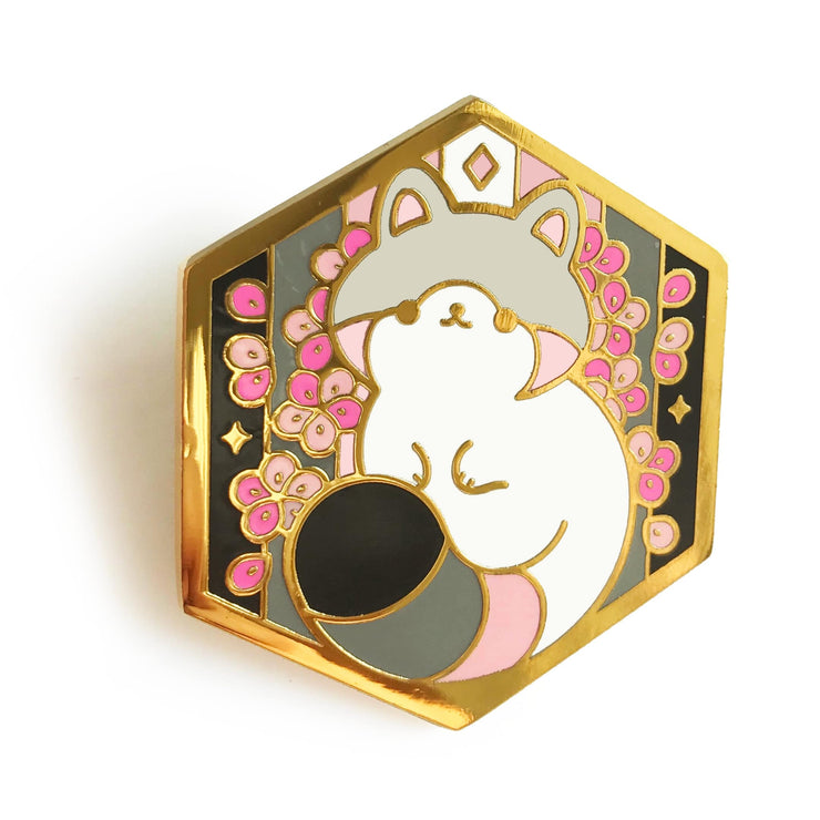 Paws of Demigirl Pin