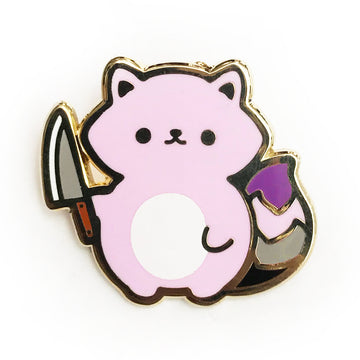 Kill Acephobia With Cuteness Pin