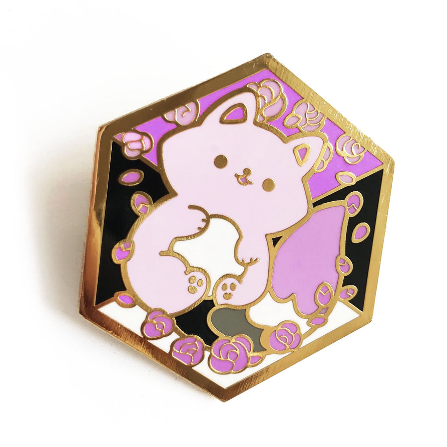 Paws of Asexual Pin