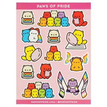 Paws of Ally Stickers
