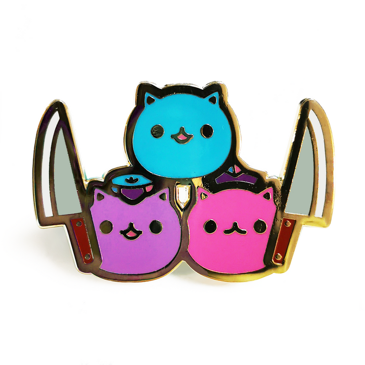 Kill Biphobia With Cuteness Pin